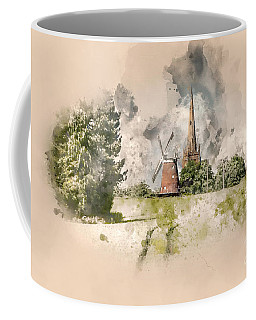 Thaxted On The Hill Coffee Mug by Jack Torcello