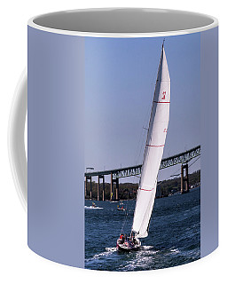 Coffee Mug featuring the photograph The 12 Newport Rhode Island by Tom Prendergast