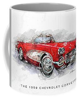 The 1959 Chevrolet Corvette II Coffee Mug