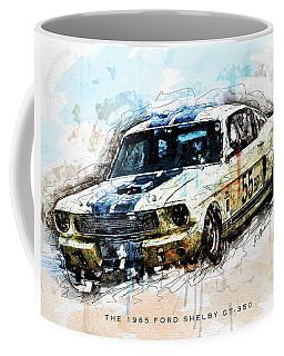 The 1965 Ford Shelby Gt 350 II Coffee Mug