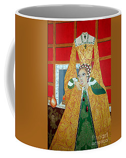 The 5th, Beheaded -- Tudor Portrait, Catherine Howard, #3 In Famous Flirts Series Coffee Mug