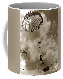 The 82nd Airborne  Hits The Silk Fort Ord 1953 Coffee Mug