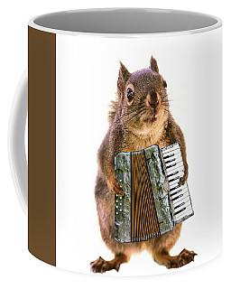 The Accordion Player Coffee Mug
