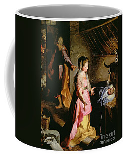 The Adoration Of The Child Coffee Mug