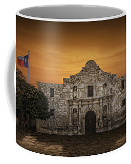 The Alamo Mission In San Antonio Coffee Mug