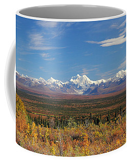The Alaska Range From The Denali Highway Coffee Mug