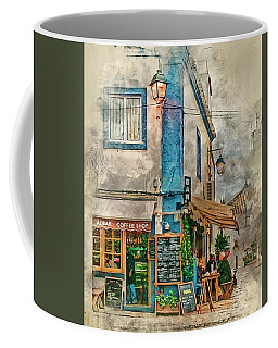 The Albar Coffee Shop In Alvor. Coffee Mug