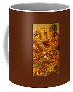 Coffee Mug featuring the painting The Alchemist by Henryk Gorecki