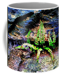 The Alien In The Wall Coffee Mug