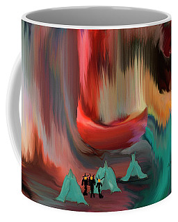The Aliens Are Here Coffee Mug