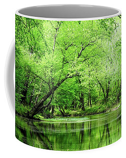 The Alum Fork River In Springtime Coffee Mug