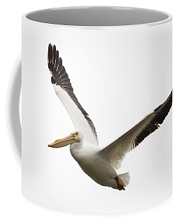 The Amazing American White Pelican Coffee Mug by Ricky L Jones