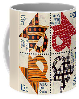 The American Quilts  Coffee Mug by Lanjee Chee