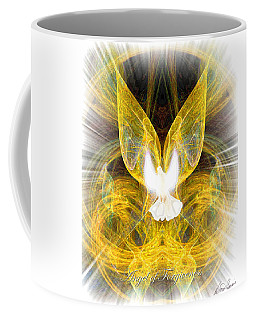 The Angel Of Forgiveness Coffee Mug