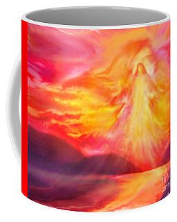 The Angel Of Protection Coffee Mug