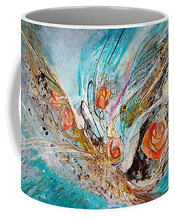 The Angel Wings #10. The Five Roses Coffee Mug