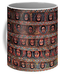 The Angels Of Debre Birhan Selassie Church Coffee Mug