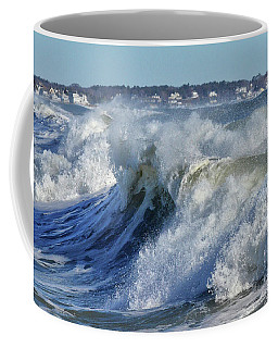The Angry Sea Coffee Mug by Tricia Marchlik