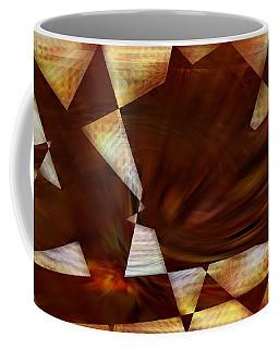 The Angular Bird - Abstract Coffee Mug