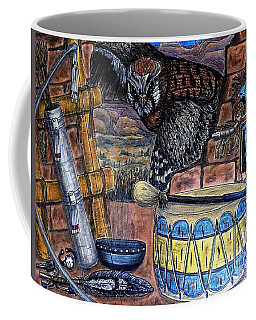 The Answer Comes Coffee Mug