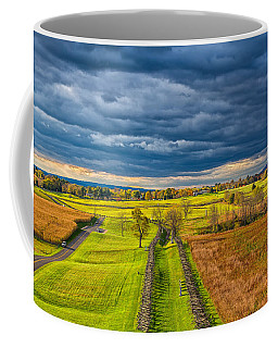 The Antietam Battlefield Coffee Mug by John M Bailey