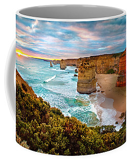 The Apostles Sunset Coffee Mug