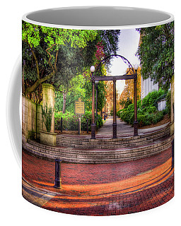 The Arch 4 University Of Georgia Arch Art Coffee Mug