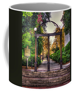 The Arch University Of Georgia Arch Art Coffee Mug