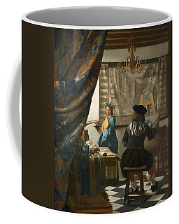 The Art Of Painting Coffee Mug
