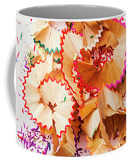 The Art Of Pencil Shavings Coffee Mug