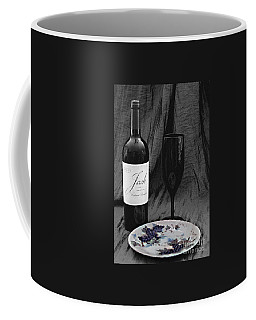 The Art Of Wine And Grapes Coffee Mug by Sherry Hallemeier
