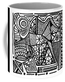 The Articulated Creation Coffee Mug by Susan Schanerman