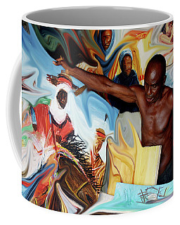 The Artist Enshrined  Coffee Mug