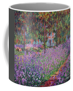 The Artists Garden At Giverny Coffee Mug