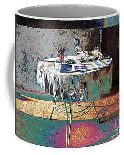 The Artists Table Coffee Mug by Don Pedro De Gracia