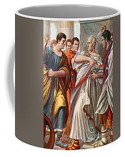 The Assassination Of Julius Caesar Coffee Mug
