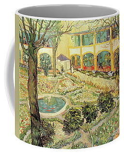 The Asylum Garden At Arles Coffee Mug