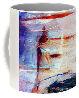 Coffee Mug featuring the painting The Auberge by Dominic Piperata