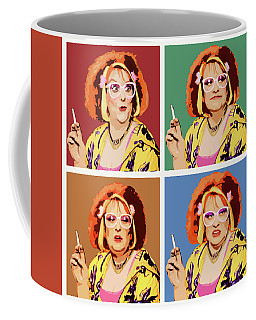 England Digital Art Coffee Mugs