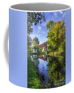 The Autumn Pond Coffee Mug by Ian Mitchell