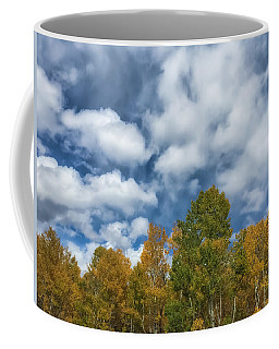 Coffee Mug featuring the photograph The Autumn Sky 2 by Jonathan Nguyen