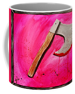 The Axe Of God  Coffee Mug