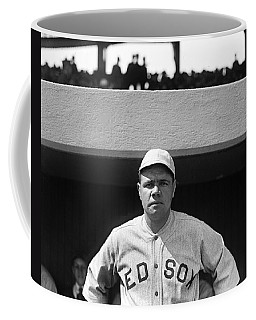 The Babe - Red Sox Coffee Mug by International  Images
