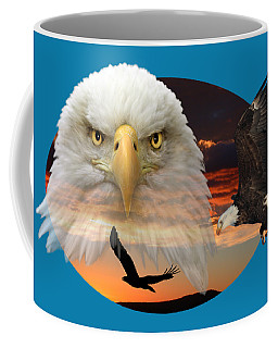 Coffee Mug featuring the photograph The Bald Eagle 2 by Shane Bechler