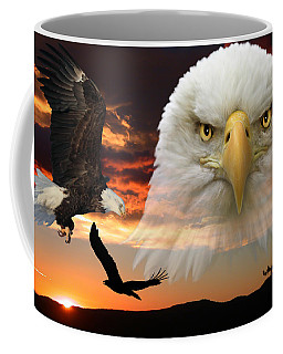 Coffee Mug featuring the photograph The Bald Eagle by Shane Bechler