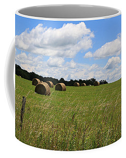 Coffee Mug featuring the photograph The Bales Of Summer 2 by Rick Morgan