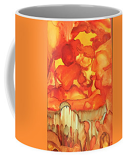 The Ball Of Fire Explodes Coffee Mug