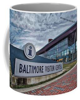 The Baltimore Visitors Center Coffee Mug