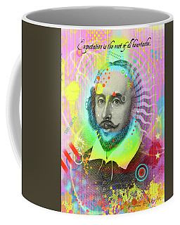 The Bard Coffee Mug by Gary Grayson
