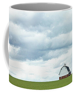 Coffee Mug featuring the photograph The Barn by Rebecca Cozart